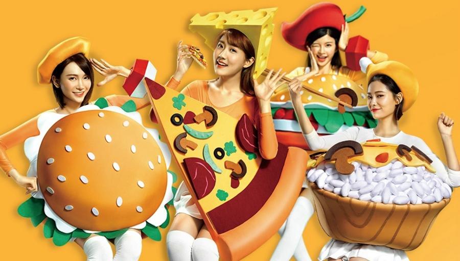 美团三周年找来SNH48拍了一套洗脑视频,看完后很想下一单