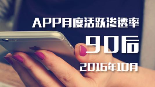 QuestMobile:90后最常用APP Top100榜报告